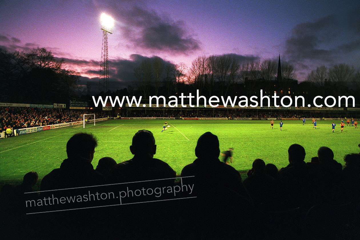 Shrewsbury Town Official Photographer Gay Meadow