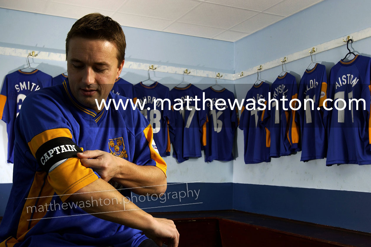 Shrewsbury Town Official Photographer Nigel Jemson